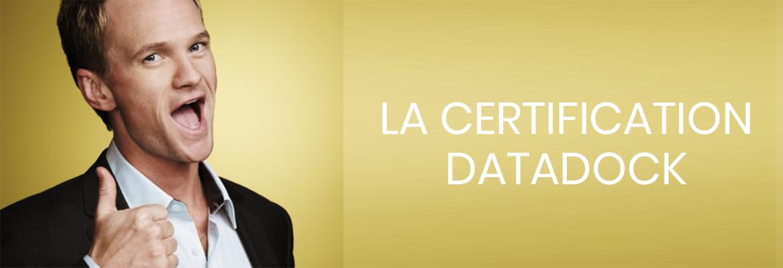 ON AIME : LA CERTIFICATION DATADOCK, NOTRE GAGE DE QUALITÉ !